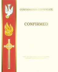Blank Certificates of Confirmation, Banner Style