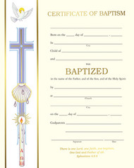 """XC102 PREPRINTED certificates-From the """"Banner Collection"""". 50 - 8"""" x 10"""" gold foil certificates per box.  Blank certificates. Blank certificates include layout guides and wording ideas."""