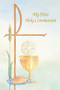 """First Communion Booklet measures 4' x 6"""" , and has 48 pages. 50 booklets per boxunion Booklet"""