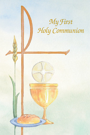 "First Communion Booklet measures 4' x 6"" , and has 48 pages. 50 booklets per boxunion Booklet"