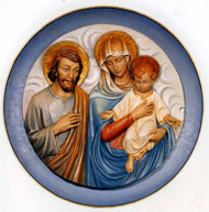 Holy Family Medallion 140/11