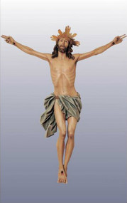Limpias Corpus in carved linden wood or cast in fiberglass - St. Jude Shop Church Supplies