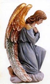 Adoring Kneeling Angel Statue 1260/A