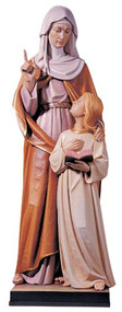 St. Ann and Child Mary Statue 817
