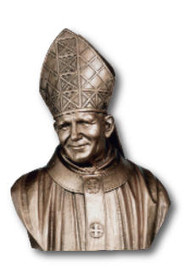 Saint John Paul II Bust