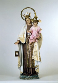 Virgen del Carmen - (O. L. of Mt. Carmel)