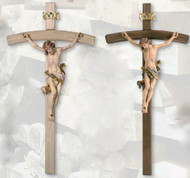 Leonardo Bent Cross Crucifix