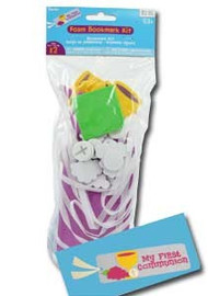 """Make Your Own Bookmarks - First Communion. Makes 12 bookmarks, 2"""" x 6"""" size. Comes with 60 stickers and 12 fabric strips"""