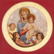 Our Lady and Child Medallion
