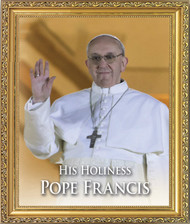 Pope Francis Framed Photograph
