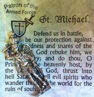 St. Michael Token and Prayer Card