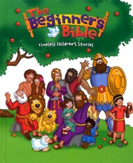 """Introduce children to the stories and characters of the Bible with this best-loved Bible storybook. Now updated with vibrant new art, text and stories, more than 90 favorite Bible stories come to life, making The Beginners Bible the perfect starting point for children. They will enjoy the fun illustrations of Noah helping the elephant onto the ark, Jonah praying inside the fish, and more, as they discover The Beginners Bible just like millions of children before.  This hardcover Bible storybook measures 6.25"""" x 7.5"""" x 1.5"""" and has 512 pages.  Recommended for ages 2 to 6."""