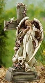 Memorial Angel and Cross