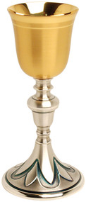 "4"" base, 8 1/4"" height, 3"" diameter cup, 5 ounce capacity"
