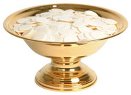 "24k Gold Plated. 5"" height, 10"" diameter, 5"" base. 800 host capacity (Based on 1 1/8"" Host)"