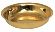 "7 1/2"" diameter, 1 1/2"" deep.  400 host capacity (Based on 1 1/8"" Host)  Choice of: 24k Gold Plated, satin stainless steel or polished stainless steel"