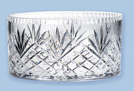 "Imported Crystal Bowl measures 3""H x 6""D"