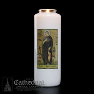 6-Day Glass Bottle Lights ~ Full color image, produced on highly durable film.Candles can be purchased individually or as a case (12 candles) Available as well in both 5/6/7 Day and 3 Day style reusable Inserta-Lite Globes.