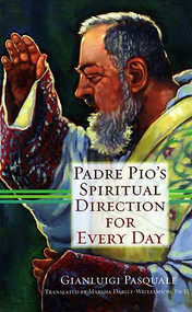 "This treasure trove has a short writing from padre Pio for each day of the year. Each quote is no more than a page, so this book is great for even the busiest of us. Padre Pio was very connected to suffering and that which damages us the most and offends Christ. Every page feels like I am getting a look into Christ's heart.  For those of you who love quotes, every page is a goldmine. This book could even be a straight read. I know that I didn't want to wait until the next day to gain more insight.For all of you looking to ""add a little extra"" to your lent, this is your ticket."
