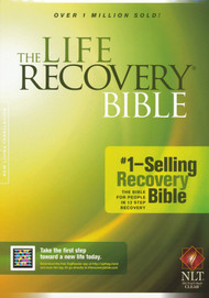 The Life Recovery Bible is today's #1-selling recovery Bible and is based on the 12-step recovery model. It was created by two of today's leading recovery experts, David Stoop, Ph.D., and Stephen Arterburn, M.Ed., to lead readers to the source of true healing--God himself. Features:  New Living Translation. Recovery Notes--Placed throughout the Bible text, these notes pinpoint passages and thoughts important to recovery. Twelve Step Devotionals--A reading chain of 84 Bible-based devotionals tied to the Twelve Steps of recovery and placed throughout the Bible text. Serenity Prayer Devotionals--Based on the Serenity Prayer, these devotionals provide an excellent More than 50 Bible-based devotionals create an excellent guide to recovery. Recovery Profiles--Key Bible characters are profiled and important recovery lessons are drawn from their lives. Recovery Reflections--Topically arranged recovery reflections pinpoint specific Scripture passages at the end of most Bible books. Recovery Themes--Prominent recovery themes are discussed at the openings of various Bible books. Other Features: Outlines, book histories, topical index, devotional index, book introductions, user's guide, and a new 12-step comparison chart. Hardback or Softback