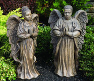 """From the Devotional Collection """"Harmony"""".  African American Angel Man or Woman.  Made to order...Allow 3-4 weeks for delivery.  Made in the USA!"""
