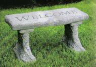"This cement garden bench is beautiful, simple, and comes with six different engravings. This can make a beautiful addition to your garden or can be used as a memorial bench. Details: Dimensions: 14""H x 11""W x 29""L 98 lbs Greetings: Welcome Gone yet not forgotten, although we are apart, your spirit lives within me, forever in my heart. Count Your Blessings May you find comfort in the arms of an angel. God grant me the serenity to accept the things I cannot change, courage to change the things I can, and the wisdom to know the difference. May you have warm words on a cold evening, a full moon on a dark night, and the road downhill, all the way to your door."