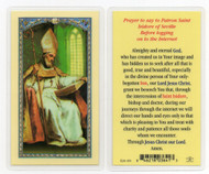 Holy Card, St. Isidore of Seville