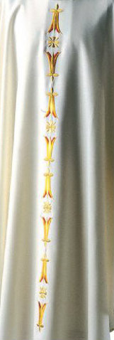 Shown in Chasuble Style