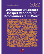 Reflect on the Scriptures and strengthen your understanding of God with St. Jude Shop's 2021 Lector & Gospel Reader Workbook. Available in English and Spanish Large-printed text for easy reading Margin notes with pronunciation guides Commentary with background information and meaning explanations Psalms for meditation and context Enhance your teachings and proclaim skills with St. Jude Shop's workbook resource, allowing you to deepen your spiritual life and help others do the same. All church supply copies include an introductory orientation to the ministry and links to audio files with chanted introductions and closings for readings. Order yours today! Paperback edition Size: 8 ⅜ x 10 ⅞  304 pages