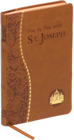 Day by Day with St. Joseph is a vital addition to the Spiritual Life Series. Sized for easy reading and transport, this inspiring book brings the reader closer to St. Joseph through daily minute-long meditations which include a Scripture passage, a brief reflection, and a concluding prayer to St. Joseph. Day By Day with St. Joseph was begun by Msgr. Joseph Champlin and completed by Msgr. Kenneth Lasch . It enriches the reader's relationship with St. Joseph by incorporating devotion to him into every day of the year. This beautiful volume is covered in brown imitation leather and has a ribbon for easy place-keeping 4 x 6 1/4