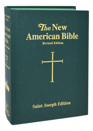 """The Deluxe Student Edition of the St. Joseph New American (Catholic) Bible includes the complete Old and New Testaments in, easy-to-read type. Contains many helpful aids for easy Bible reading, including a valuable Bible Dictionary, self-explanatory maps, complete footnotes and cross- references, and an eight (8) page Family Record. The handsome and durable, full-size (6 1/2"""" x 9 1/4"""") Deluxe Student Edition of the St. Joseph New American (Catholic) Bible will enable the reader to better understand and appreciate the Bible and is ideal for school or home. Available in green cloth"""