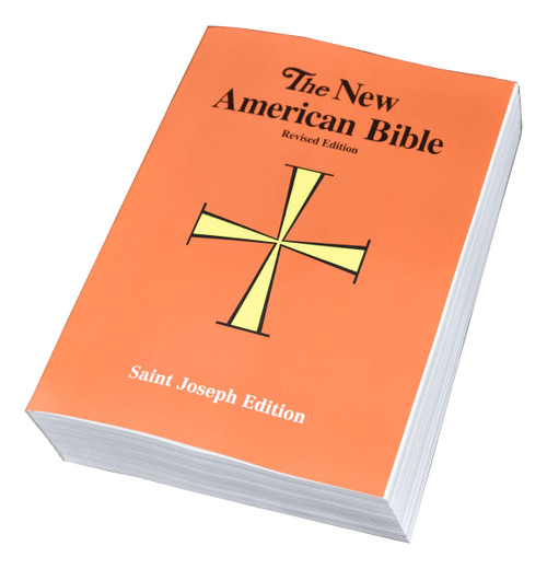 """The Full-Size Student Edition of the St. Joseph New American (Catholic) Bible includes the complete Old and New Testaments in large, easy-to-read 11-pt. type. Contains many helpful aids for easy Bible reading, including a valuable Bible Dictionary, self-explanatory maps, and a complete footnotes and cross-references large (6 1/2""""x 9 1/4"""") clear format and flexible, durable paper binding make the St. Joseph New American Bible Full-Size Student Edition the ideal full-size Bible for students."""