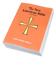 "The Full-Size Student Edition of the St. Joseph New American (Catholic) Bible includes the complete Old and New Testaments in large, easy-to-read 11-pt. type. Contains many helpful aids for easy Bible reading, including a valuable Bible Dictionary, self-explanatory maps, and a complete footnotes and cross-references large (6 1/2""x 9 1/4"") clear format and flexible, durable paper binding make the St. Joseph New American Bible Full-Size Student Edition the ideal full-size Bible for students."