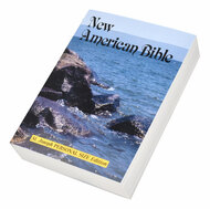 "The personal-size edition of the St. Joseph New American (Catholic) Bible includes the complete Old and New Testaments in legible 7-pt. type. Contains many helpful aids for easy Bible reading, including a valuable Bible Dictionary, self-explanatory maps, a doctrinal Bible Index, and complete footnotes and cross-references. The compact (4-1/2"" x 6-1/2"") size and flexible, durable paper cover make this St. Joseph New American Bible ideal for school and home study."