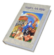 "This colorful children's Bible with a Noah's Ark theme is easy to read, and features 16 full color Bible story pictures by artist Nancy Munger. It also includes a calendar/daily reading plan, christian character builders, chronology of Bible events, imprimatur, presentation page, special section on Noah's Ark, study helps, and the teachings of Christ. 1440 pages, 5 1/2"" x 8 5/8"""