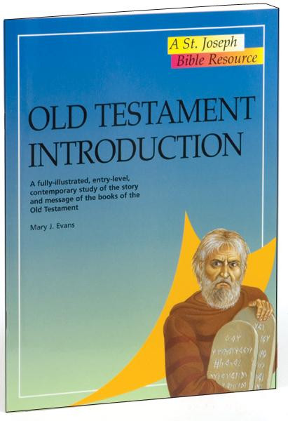 """Old Testament Introduction---A fully-illustrated, entry-level, contemporary study of the story and message of the books of the Old Testament. A volume in the St. Joseph Bible Resources series, Old Testament Introduction provides, in a concise and accessible format, an entry-level contemporary study of the Old Testament. In 32 pages, this fully illustrated book outlines the history, literature, religion, and teachings of the Hebrew Scriptures. Old Testament Introduction is an invaluable resource for use in schools or Bible study groups, or for the individual inquirer. 6 1/2"""" x 9"""",  32 pages. Also in the reference series: New Testament Introduction, Bible Facts and Figures, Bible Atlas, The World of the Bible, People of the Bible and the Atlas of the Bible."""