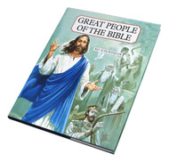 "Great People of the Bible by popular author Rev. Jude Winkler, OFM, Conv., presents the stories of more than seventy important personages from the Old and the New Testaments. Each biblical figure in Great People of the Bible is featured in a full-page color portrait and his or her significance described in a succinct, insightful, and informative summary on the facing page. Father Jude clearly sets forth the characteristics and the role of each person in salvation History and shows how each relates to us today. Great People of the Bible is bound in durable cloth with a full-color jacket. Size: 8 1/2"" x 11"" ~ Pages 160"