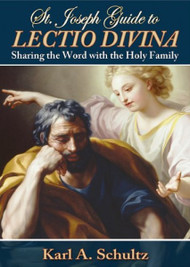 "St. Joseph Guide to Lectio Divina by prolific author and international speaker Karl Schultz invites the reader to join with Blessed Mary and St. Joseph, using the ancient prayer method of lectio divina to grow in age, grace, and wisdom. By following the suggestion, we can maximize our receptivity to God's plan for our lives, and we can see why Pope Benedict XVI, generously quoted by Schultz, has put such an emphasis on lectio as a spiritual instrument for our times.  192 pages ~ Size 5  x 7"" ~ Paperback"