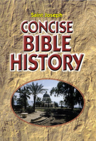 """The ideal way for all Catholics to become acquainted with the history of God's Chosen People.  Written in a clear, easy to read style, it offers an excellent summary of Bible history from Creation to our Lord's life, death, and resurrection and on to the birth of the Church.  Illustrated. 160 pages,  5 3/8"""" x 7 1/8"""". 7 1/2"""" x 10 1/2"""","""