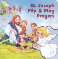 "For this small board book, children can flip the flap of the front cover onto each page so that it appears in each prayer they say.  12 pages ~ 6"" x 6"""