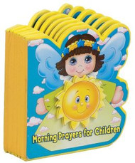 """This lightweight Angel-shaped book will add meaning and delight when children pray when they first wake up. The sweet angels that fill the pages will draw in children and help them look forward to saying their prayers.  14 pages ~ 5-1/4"""" X 5-3/4"""""""