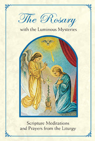 "Full color booklet includes all twenty mysteries of the Rosary, plus Rosary prayers.  Features changes from the New Roman Missal! 4"" x 6"", 48 Pages Does not have Fatima prayer. English and Spanish versions available"