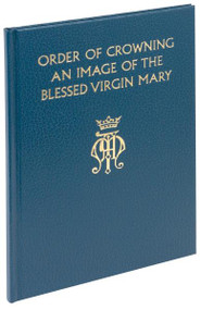 "The Order of Crowning an Image of the Blessed Virgin Mary is a new edition of the crowning rite that offers three ways in which this popular ritual may take place: (1) within Mass; (2) within liturgical Evening Prayer; and (3) within a celebration of the Word of God. The texts of the rites are printed in two colors and are preceded by an introduction containing an informative Vatican decree that sets this popular custom within its historical context and emphasizing the significance of Mary as mother of the Savior. The Order of Crowning an Image of the Blessed Virgin Mary is durably bound in an attractive blue cloth cover. 7 1/4"" X 10 1/4 ~ 48 pages"