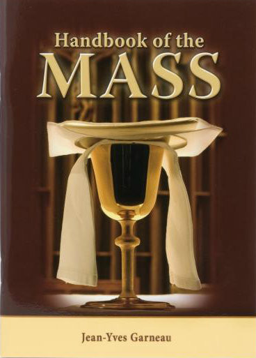 """Handbook of the Mass provides an introduction to understanding the greatest prayer of the Church, the Eucharistic Liturgy. This handy, compact volume contains 100 succinct summary statements that serve as a basic overview of the parts of the Mass. This attractive, user-friendly handbook has many uses: perfect for RCIA, returning Catholics who need a """"brush-up,"""" or as a concise, handy reference. Handbook of the Mass is enhanced with contemporary illustrations and flexibly bound.  5"""" x 7"""" ~ 64 pages"""