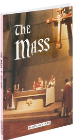 "The Mass is a thorough, exhaustive, informative book on the ritual, history, and theology of the Catholic Eucharistic Liturgy. Written by Benedictine liturgical scholar Rev. Guy Oury in the spirit of the renewal instituted by Vatican II, The Mass will enable all who read it to live the riches of Vatican II's liturgical renewal. 5 1/2"" X 8 1/4"" ~ 128 pages"