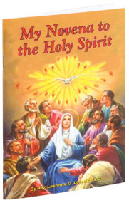 "My Novena to The Holy Spirit provides the most popular Novenas in honor of The Holy Spirit and fits perfectly in a pocket or purse for anytime prayer. With a flexible and beautifully illustrated, full-color cover, this 32-page edition of My Novena to the Holy Spirit is an excellent way to praise the Holy Spirit at any time of the day.   4"" x 6 1/2"""