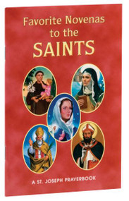 "Favorite Novenas to the Saints is an accessible booklet filled with the most popular Novenas honoring the Saints. Arranged for private prayer on the Feasts of the saints with a short helpful meditation before each novena. Perfectly sized and printed in two colors for anywhere, anytime prayer, Favorite Novenas to the Saints is an illustrated source of inspiring Novena prayers. 4"" x 6 1/4"" ~ 64 pages ~ Flexible Cover Author, Rev. Lawrence Lovasik, S.V.D."