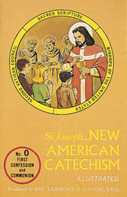 The New American Catechism (No. 0) uses the question-and-answer method to emphasize the essential elements of Catholic doctrine in an orderly way and thus help young children better to retain and understand them. Written for Grades 1 and 2 (First Communion preparation), this New American Catechism relies upon the official U.S. Bishops' document Basic Teachings for Catholic Education, the teachings of Vatican II, and Scripture to provide an explanation of the Catholic Faith. The economical New American Catechism (No. 0) is printed in large type to be user-friendly to young children and is profusely illustrated.