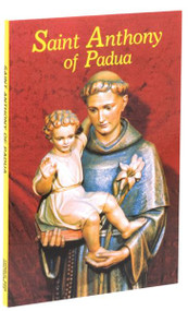 "St. Anthony of Padua provides guidelines, devotions, and prayers for growth in the spirit of St. Anthony, who is called The Saint of the World for his devotion to teaching and preaching to all people. This St. Anthony of Padua also offers a short biography of this extraordinary Saint who was often forced to preach outdoors since no church could accommodate the vast numbers who came to hear him. With large type and a tenderly illustrated cover, St. Anthony of Padua also offers prayers to St. Anthony and illustrations in two colors within its 128 pages.  4"" x 6"""