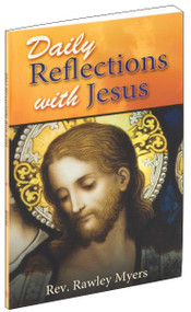 "A beautifully illustrated prayerbook containing thirty-one prayerful reflections with Jesus for each day of the month. Daily Reflections With Jesus is a prayer book you will return to again and again as you draw closer to Our Lord in your prayer journey. 96 pages ~ 4"" x 6 1/2"" ~ Flexible Cover"